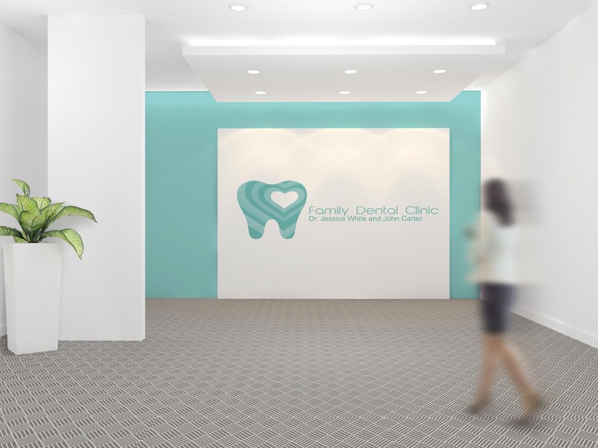 Family Dental Clinic Mockup
