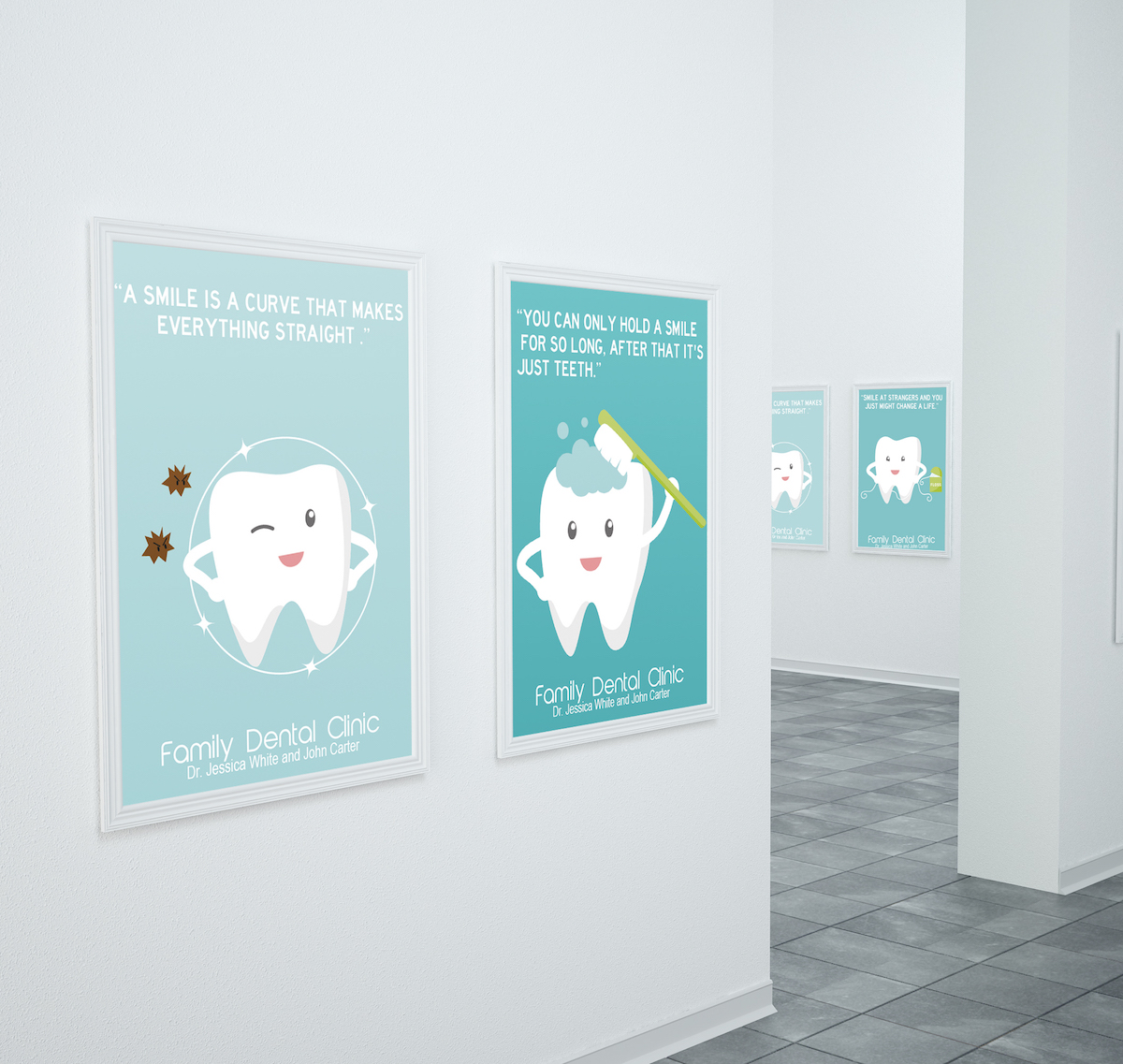 Family Dental Clinic Posters