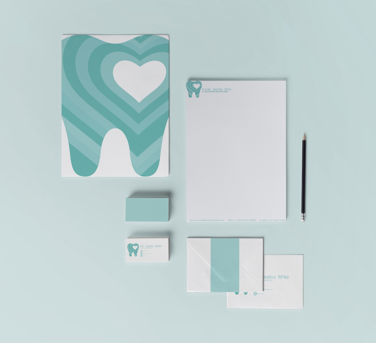 Family Dental Clinic Stationary