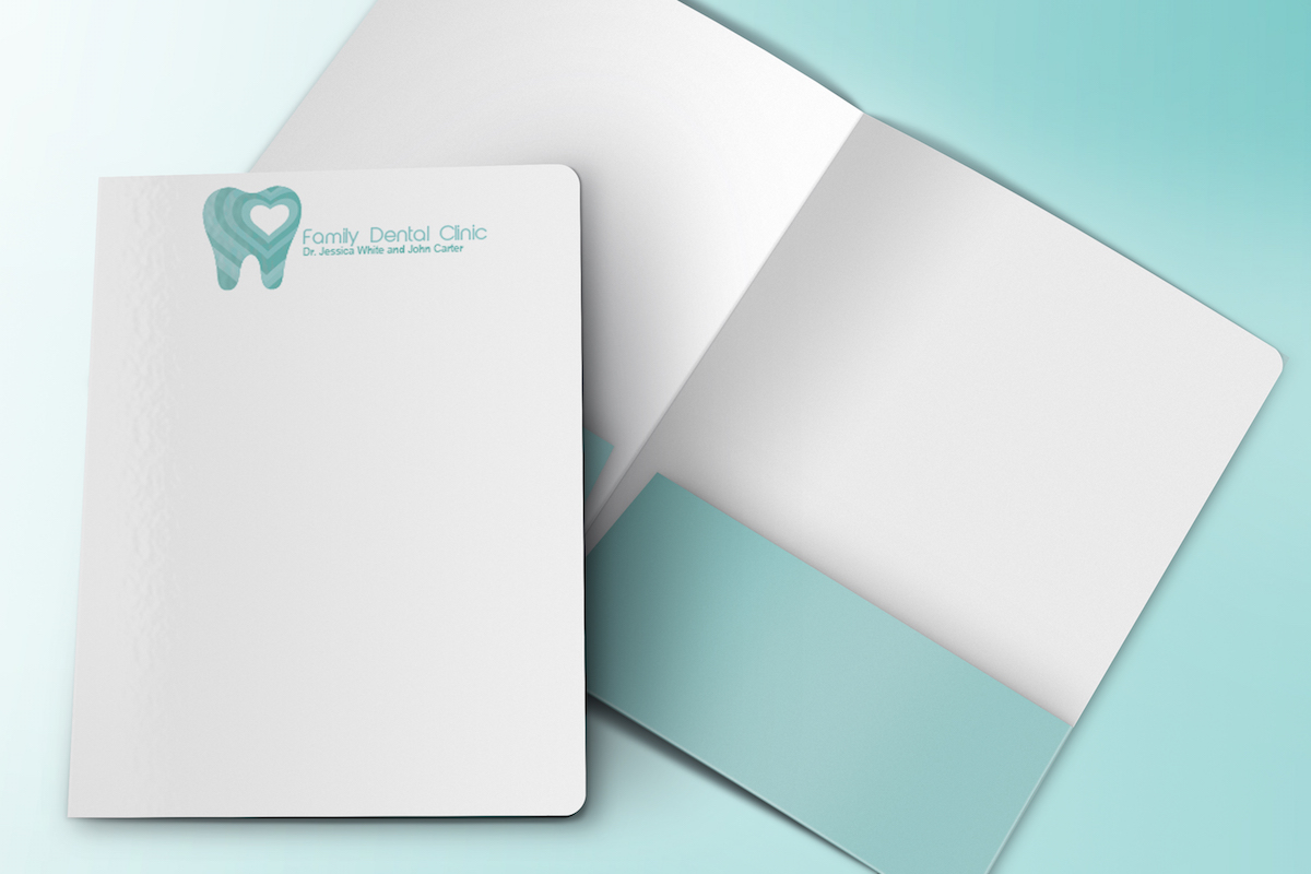 Family Dental Clinic Letterhead