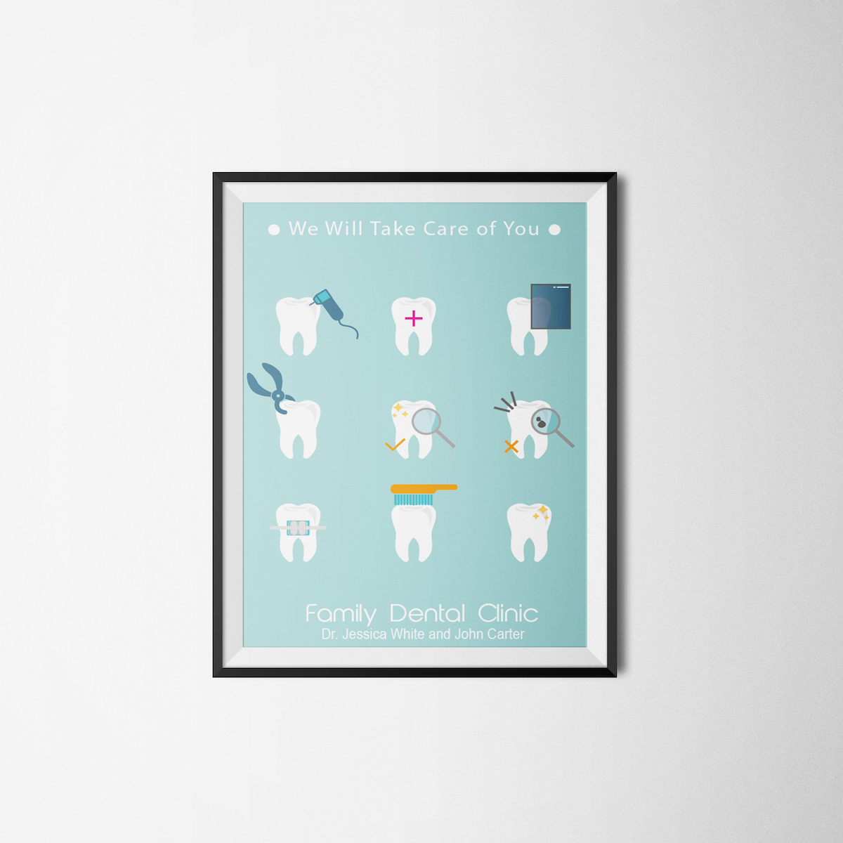 Family Dental Clinic Poster